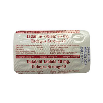 Buy Tadagra Strong 40mg online